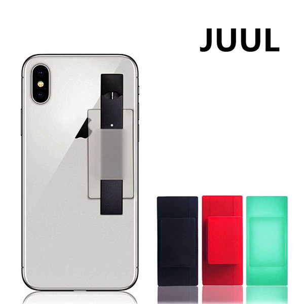 Delicato Jmate Silicone Phone JUUL Supporto per telefono posteriore Accessorio per JUUL Vape Pen JUUL Holder Grande quantità IN MAGAZZINO