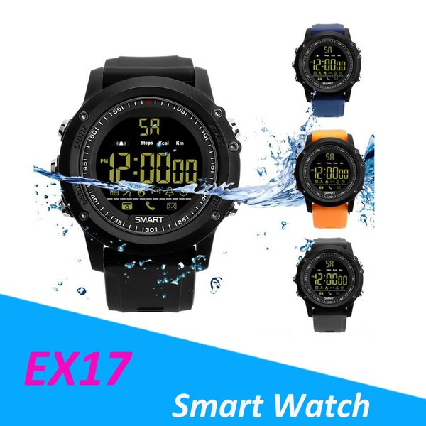 For apple iwatch Bluetooth Smart watch EX17 Long standby time Smartwatch Bracelet IP67 Waterproof Swim Fitness Tracker Sport Android Phone