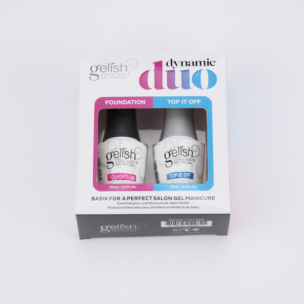 best selling 2021 Newest Fashion excellent quality Gelish nail gel polish soak off uv gel nail Foundation nails Top coat and Base coat