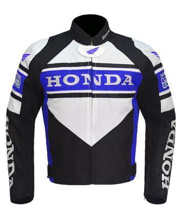 revestimento da motocicleta para HONDA traje de corrida Yamaha motocross locomotiva com bile algodão destacável e proteção motoqueiro engrenagem jaqueta