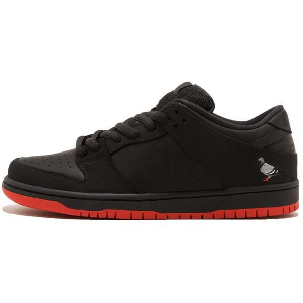 B32 36-45 Negro Rojo