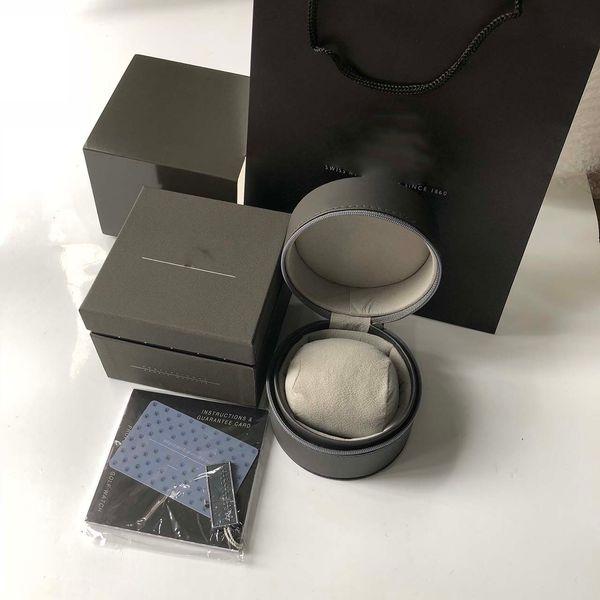 Venta al por mayor de la mejor calidad Top Brand TAG Caja de relojes Cajas de relojes de lujo Cajas de relojes de cuero de moda casual Relojes Joyero Caja de regalo