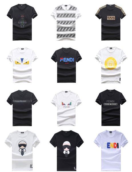 Design Medusa Mens T Shirt Nuovo stile caldo Estate Moda Lettera Stampa Casual uomo Slim Fit T-Shirt manica corta da uomo Top T Vestiti