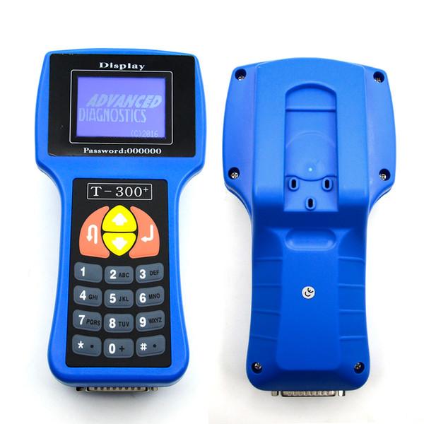 Car Key Programmer T300 main unit V16.8 T 300 Auto Transponder Key Decoder T-CODE T-300 diagnostic blue/black color T300