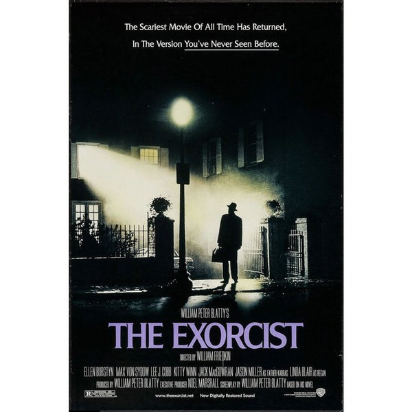 THE EXORCIST Horror Movie Art Silk Poster 24x36inch 24x43inch 0546