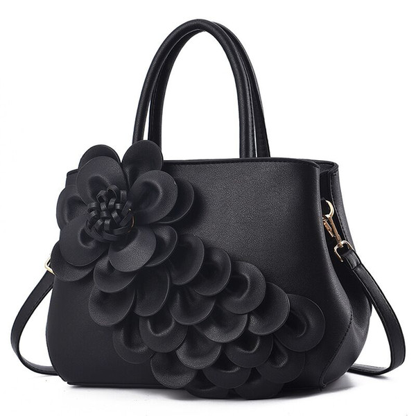 High Quality C flower women handbags L flower luxury designer bags lady clutch shoulder tote female purse Classic Style Fashion Bags 1479
