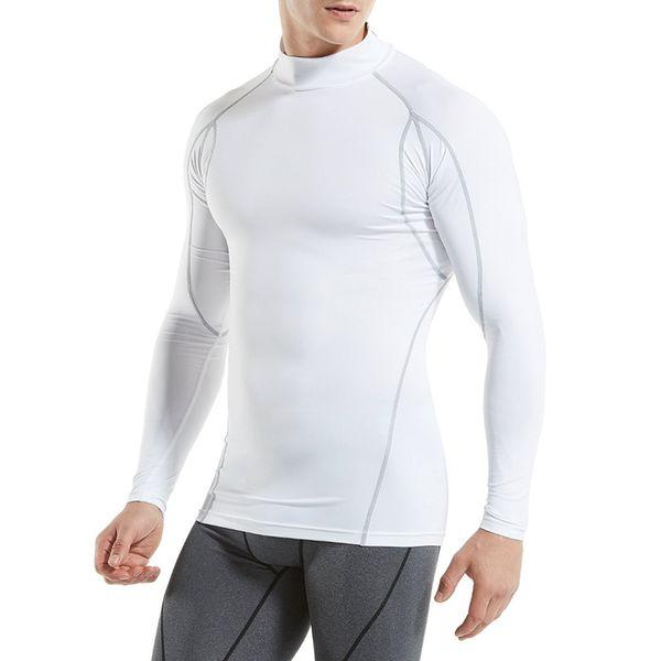 KalvonFu Hombre Invierno Ropa Interior Térmica Masculina Cálido Más Tamaño Medias Térmicas Compresión Camiseta de montar Tops