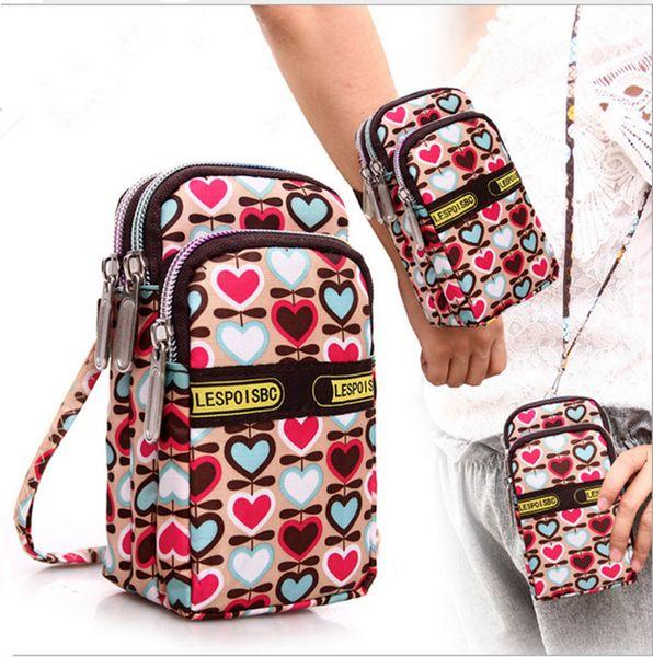 Crossbody Phone Case with lanyard Shoulder Storage Bag Pouch Purse Case Wrist Belt Handbag Portable Zipper Wallet for iphone samsung new