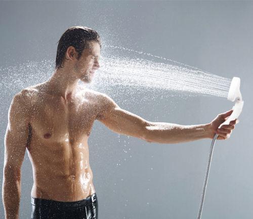 Risparmio idrico ad alta pressione giapponese per doccia con soffione doccia