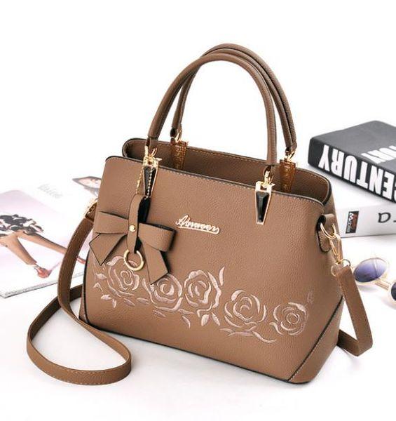 Designer Luxury Handbags Purses Ladies Handbag Sets Leather Shoulder Office Tote Bag Cheap Womens Shell Handbags Sale Hand bag