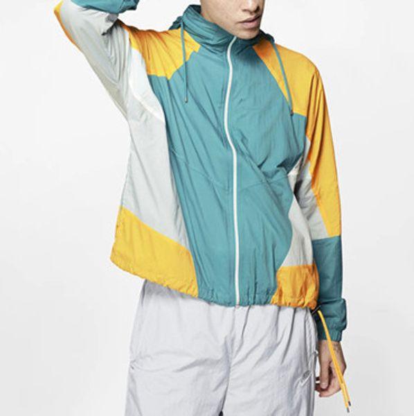 Brand Designer Mens Jackets Sports Windbreaker Zipper Hoodies for Men Women Patchwork Fashion Casual Coats S-2XL CE98241