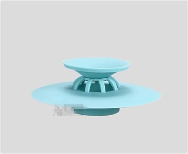 Bathtub Floor Drains Pure Color Deodorization Anti Clogging Water Tank Kitchen Sink Filter Screen Drain