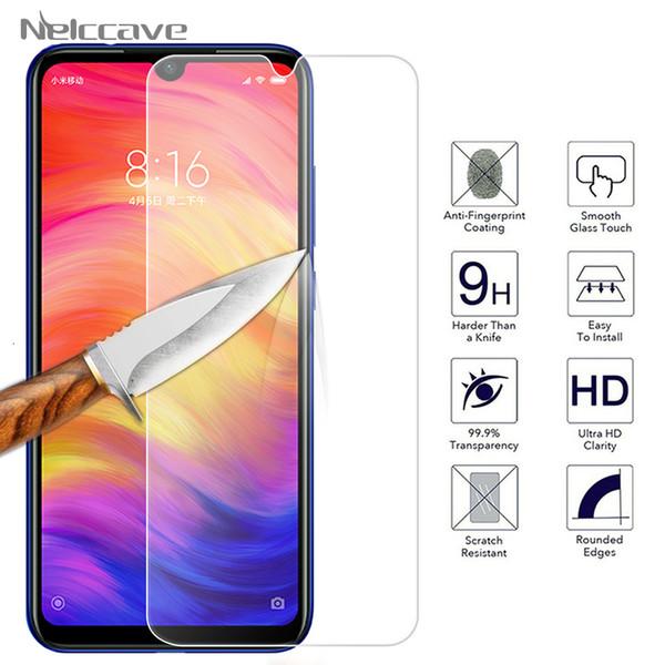 2.5D protetor de tela de vidro temperado para Xiaomi A3 Lite Mi A2 A7 6x5x nota 3 jogar em tela F1 telemóvel F2 película protetora