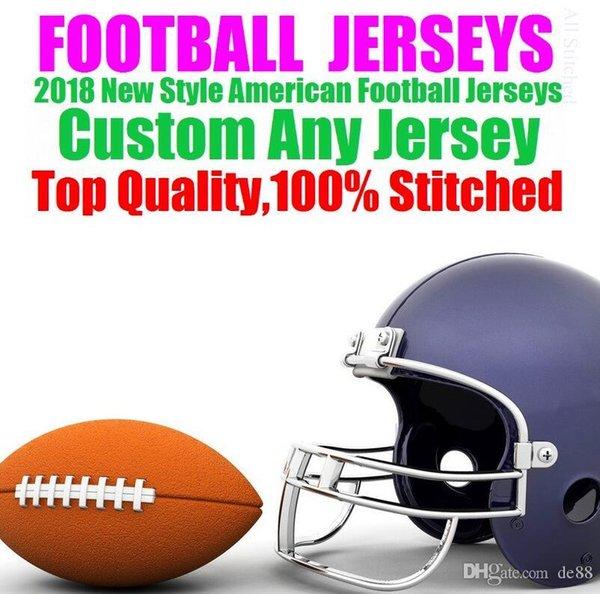 Camisas de futebol americano personalizado Washington Miami faculdade autêntica retro rugby futebol basquete hóquei de basquete jersey 4xl 5xl 6xl nome