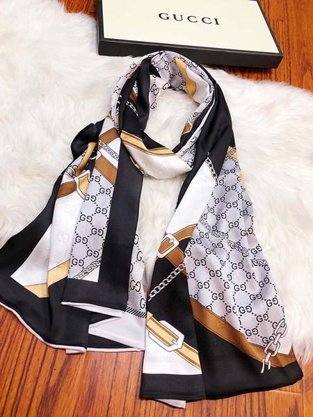 L635,105, new shawl, scarf, shawl, print, Letter ,,Beautiful fashion.Chiffon texture