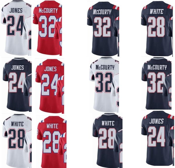 the best attitude 31053 4876b Custom New England Men/Youth/Women#24 Cyrus Jones 28 James White 32 Devin  McCourty Patriots/Rush/Elite Jersey Novelty T Shirt Funny Printed T Shirts  ...