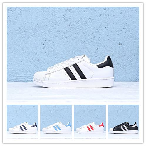 Superstar 2019 Running Designerschuhe stan smith Weißes Hologramm Iridescent Junior Super Stars 80er Jahre Sneakers Super Star Sportschuhe 36-44