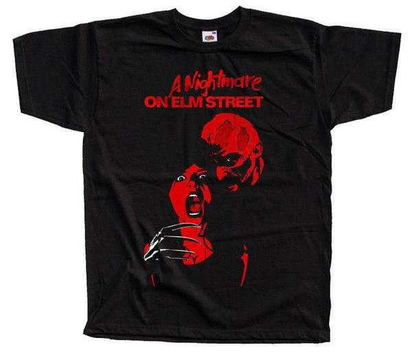 A Nightmare on Elm Street V5, locandina del film T SHIRT (BLACK) ALL SIZES S-5XL