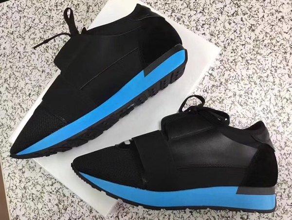 Schwarz / Blau unten