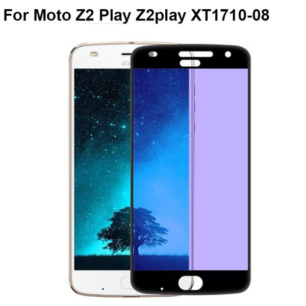 2PCS 9H Protecteur d'écran complet pour Moto Z 2 play pleine couverture film de protection en verre trempé pour Moto Z2 jouer Z2play XT1710