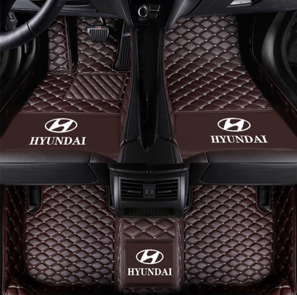 коврик для автомобиля Hyundai Tucson 2006-2018 PU интерьера нескользящего экологически чистого нетоксичного мата