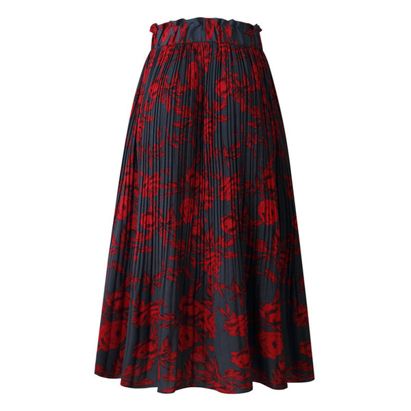 Floral Dot Skirt Midi Skirt Casual Skirts Printed Designer Fashion Women Dress Clothes Summer Dresses Fashion Drop Ship Wholesale