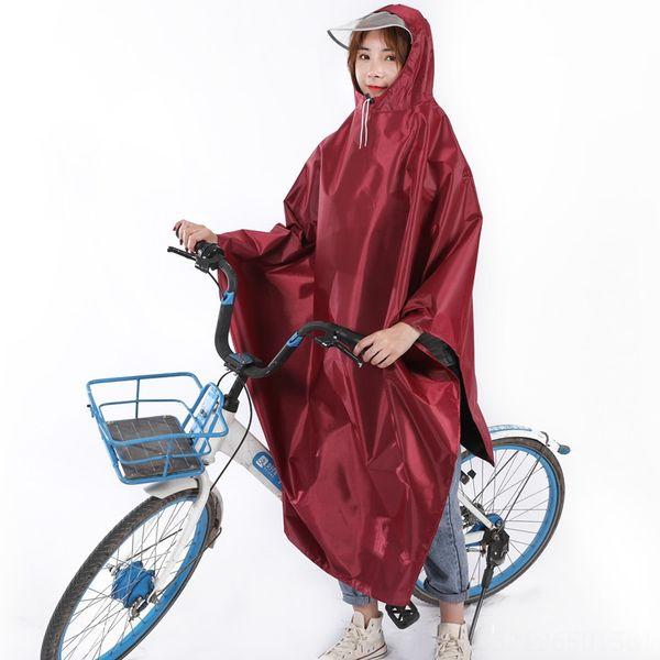 Bisiklet-tek Şapka Brim-kırmızı
