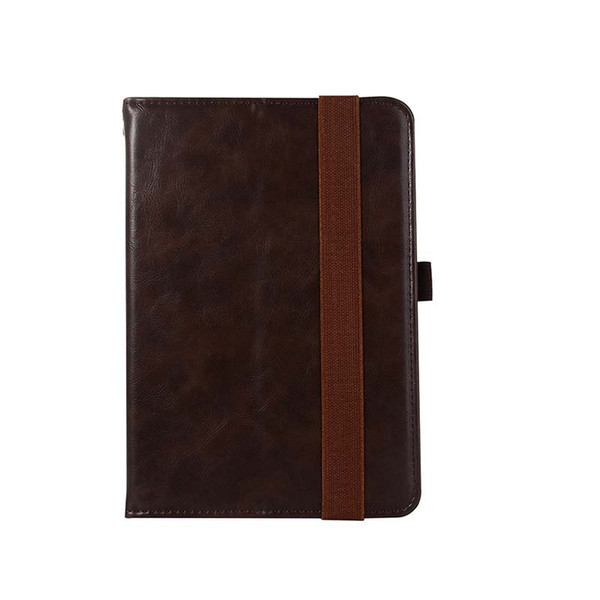 Classic Half Genuine Leather Tablet Case For iPad Mini 1 2 3 ipad 5 6 AIR AIR2 Shockproof PU Leather Tablet Case