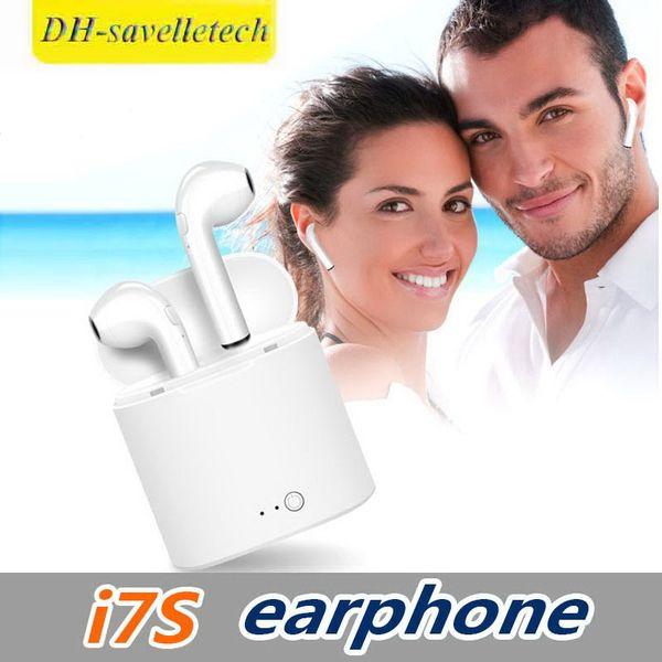 Bluetooth Earphones I7S TWS I7 Bluetooth Headphones Sport Wireless Earphone True Stereo Headset For Phone 8 9 Samsung S8 S9 S10 Huawei