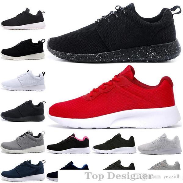 New Tanjun 1.0 3.0 Run Chaussures de course hommes femmes à faible noir légère respirante London Olympic Sports Chaussures de sport taille des hommes Formateurs 36-45 T1A1