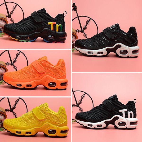 Acquista Nike Air TN Plus 2019 Chaussures Air Kids Tn Plus Scarpe Casual Grandi Ragazzi Ragazze Camo Nero Bianco Sport Sneakers Run Plus TN Designer