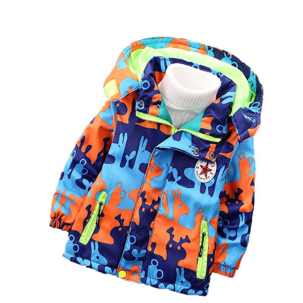 good quality spring autumn boys print flower Jackets windbreaker cartoon sport hoodies coat children tracksuit clothes for boys coat