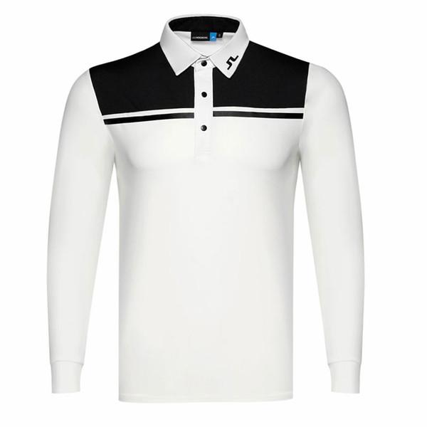 best selling New men Dust_Proof Golf Shirt Latest Spring summer JL Golf sports shirt Full Sleeves Anti-Pilling Short Golf T-Shirt Free shipping
