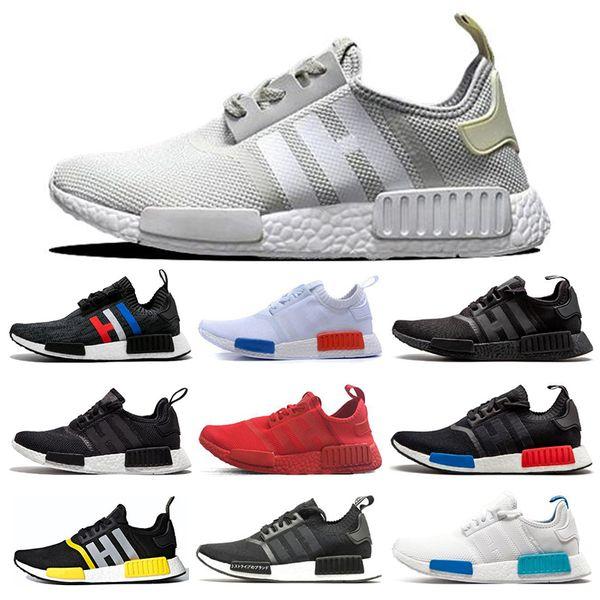 Adidas nmd R1 Clássico japão triplo branco preto R1 homens mulheres tênis produzidos Og creme Oreo camo mulheres esporte sneakers tamanho 36-45