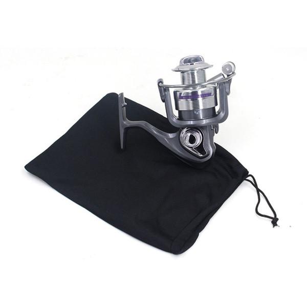 Carretel de pesca Saco Com Saco de Protetor de Carretel De Pesca Com Cordão Equipamento de Equipamento de Proteção Bolsa # 717369