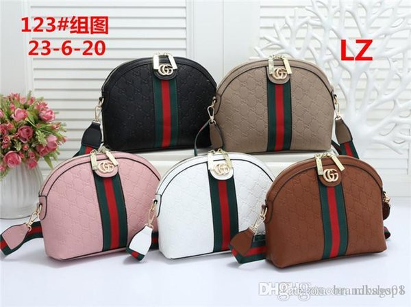 Los nuevos estilos del bolso del diseñador famoso de cuero Marca bolsos de la moda de las mujeres de hombro del totalizador bolsas de dama F102 bolsos de cuero bolso Bolsas