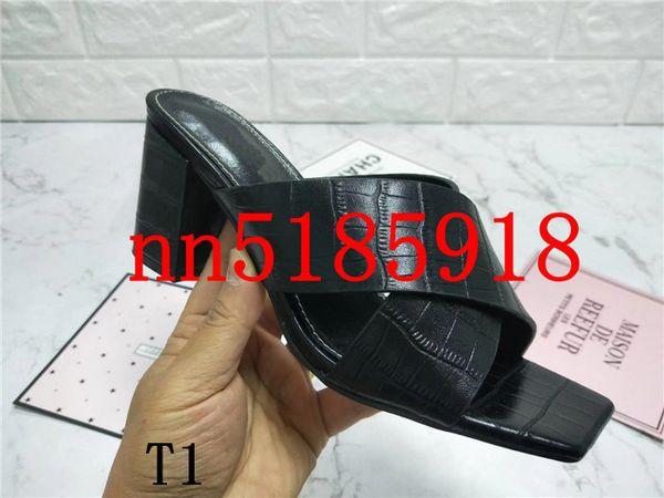 La fodera di cuoio del grano della pietra 2019 è il primo strato dei numeri di trasporto libero 34-42 della fabbrica dei sandali dei talloni 6CM delle signore di cuoio