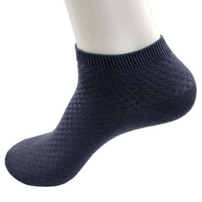 20190414 Men's Boat Socks Pure-colour Recreational Men's Short-mouthed Socks