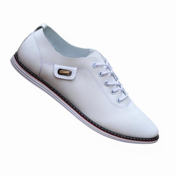 AECBUY Hakiki Deri Ayakkabı Erkekler Resmi Oxfords Ayakkabı Erkek Elbise Hakiki Deri 7PNXXPb9