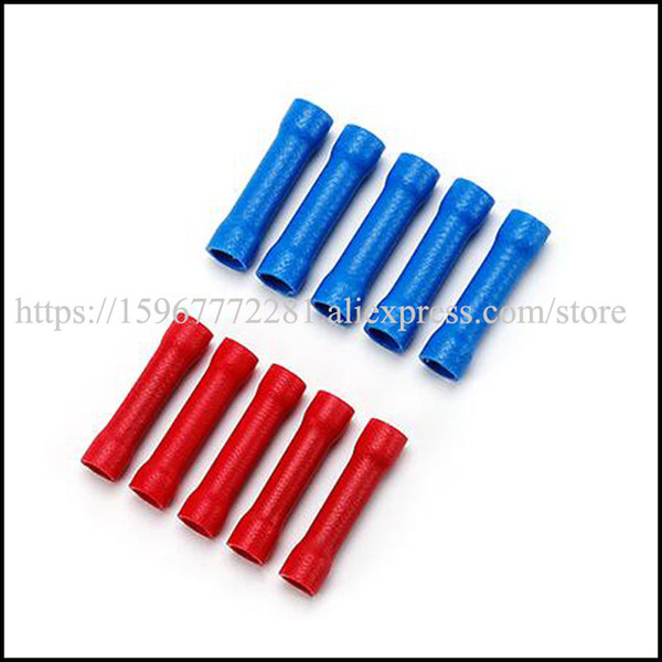 BV5.5 series of butt connector Insulated terminal wire connectors automotive cable terminal male female connector plug jacket socket