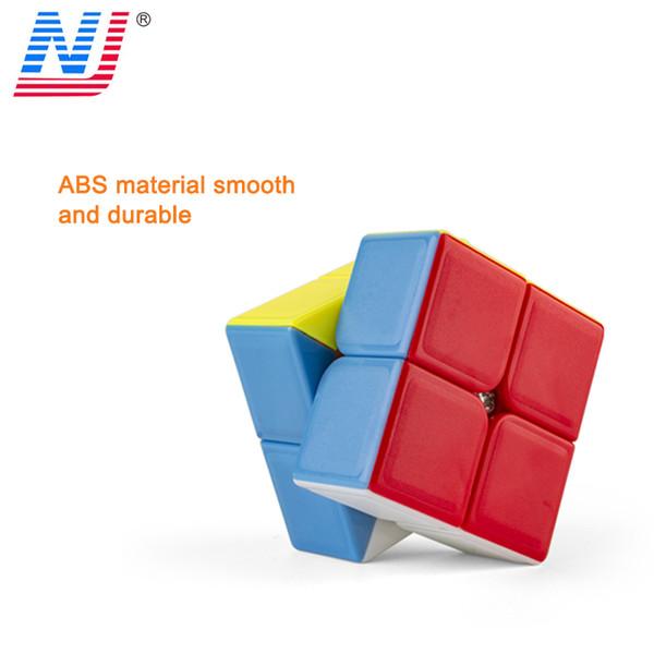 Multi Shape 2*2*2 Cube Professional Sticker with Carbon Fiber Rubic Cube Magic Cube Puzzle Neo Cubo Magico Kids Toys