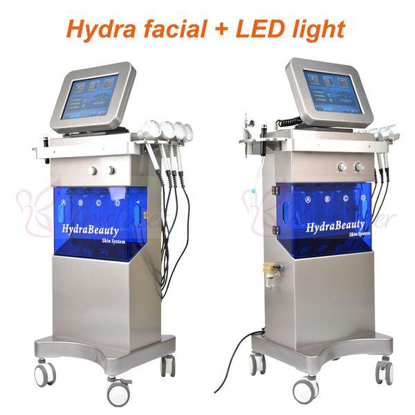 SPA16 hydra facial aqua skin oxígeno spray foto led terapia de luz 7 colores claros spa equipo facial