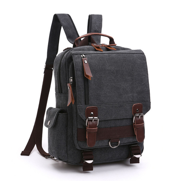 high quality Waterproof Shoulder Bags Men Business Style Chest Bag Male canvas Messenger Bags Man Fashion Crossbody Bag Men