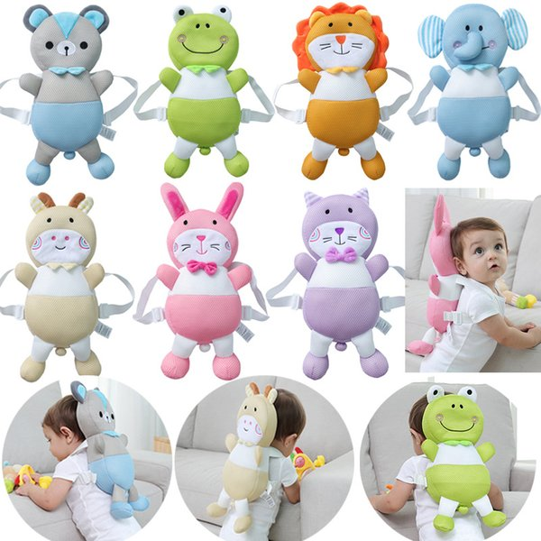 Baby Head Protection Pad Toddler Headrest Pillow Baby Neck Cute Animal Nursing Drop Resistance Cushion