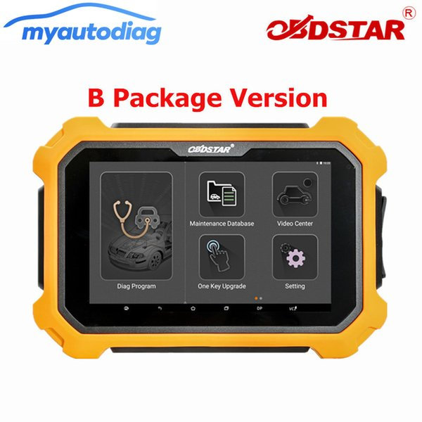 Newest OBD2 Diagnostic Tool Promotion OBDSTAR X300 DP Plus B Package Immobilizer+Special Function +Mileage Correction