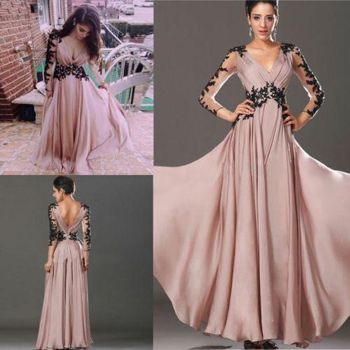 Sexy Lace Cocktail Party Ball Prom Gown Formal 2015 Cocktail Long Dresses