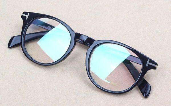 2019 NOUVEAU Tom TF6123 monture de lunettes lentille claire Designer lunettes myopie lunettes Retro oculos de grau hommes et femmes myopie montures de lunettes