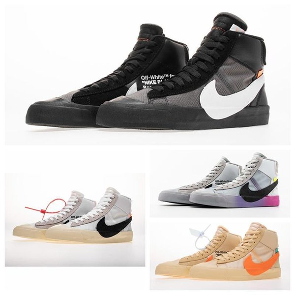 best selling triple mens blazer shoes Ultra OFF Plus running shoes sports walking moc black white womens trainers athletic sneakers lucky