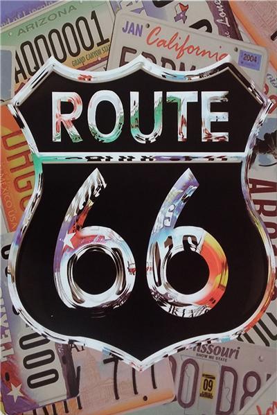 Калифорния способ гараж hotrod пиво route66 mancave pinup девушка 20 * 30 см мотоцикл металлический жестяной знак кафе-бар ресторан стены арт-деко краска