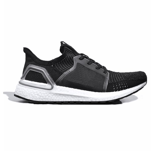 2019 2019 Ultra Boost 19 Running Shoes For Men Women Cloud White Black Oreo Ultraboost 5.0 Mens Trainer Breathable Runner Sports Sneakers From